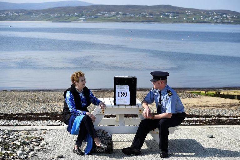 愛爾蘭墮胎公投 12個離島已經提早一日投票