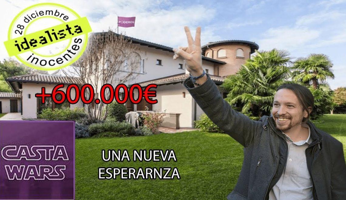西班牙左黨領袖 花費60萬歐買獨立屋 6年自己就質疑過其他人