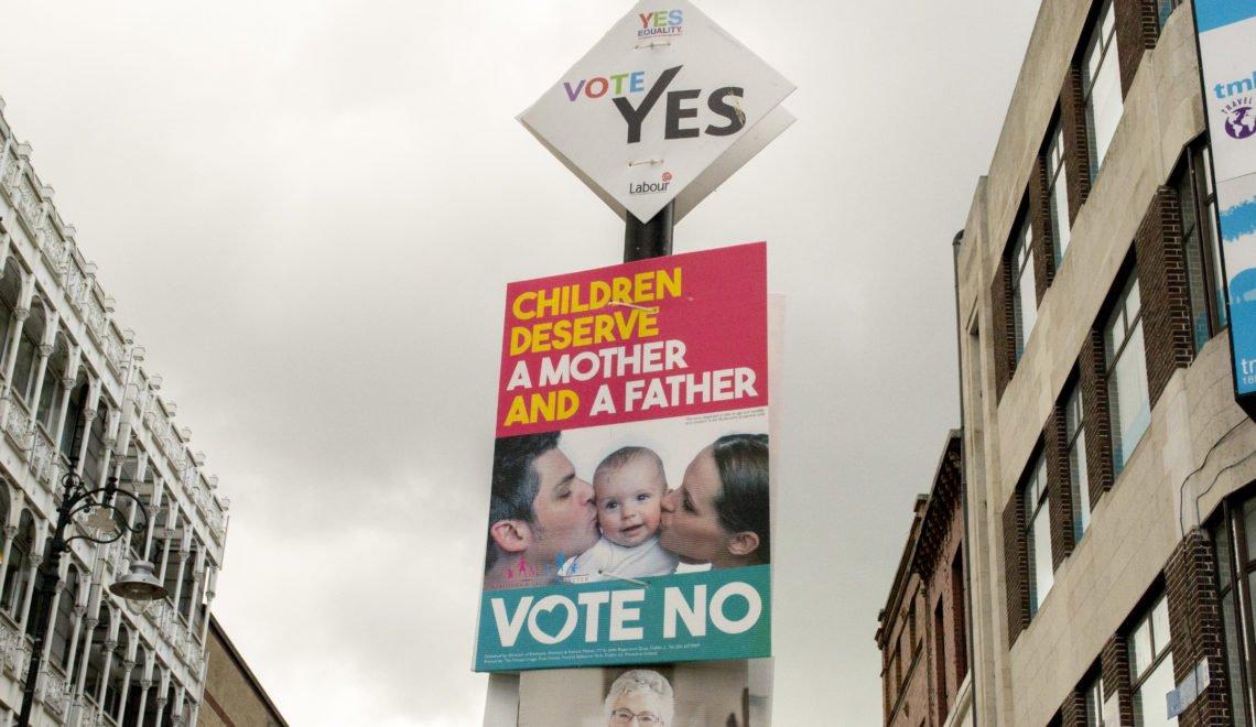 愛爾蘭憲法公投 FB 都fail 反對墮胎廣告 竟然列出支持有權選擇人士有捐款
