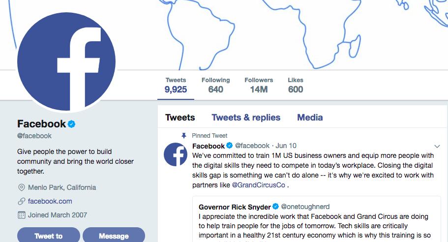 德議員要求Facebook開放平台 等Twitter 用戶可以直接留言?