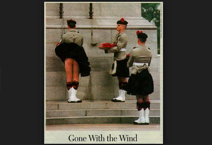 政府澄清「偷拍裙底春光罪」保護埋唔打底嘅「真蘇格蘭人」