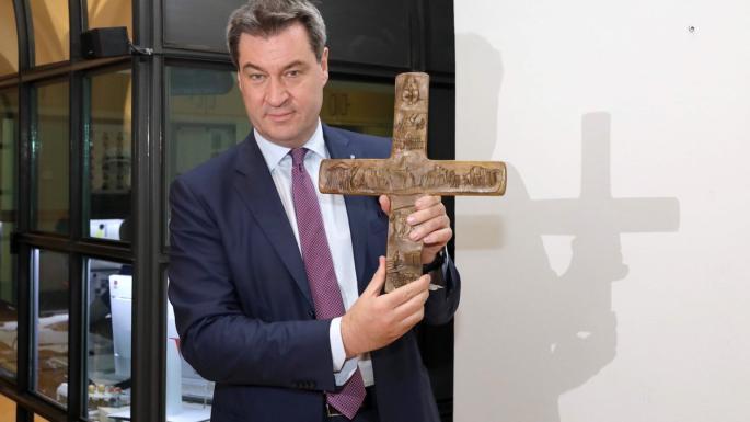 拜仁政府要官家都掛十字架 但天主教會割席反對?