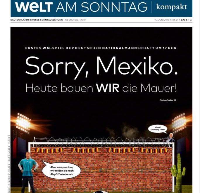 德國網民驚覺自家報紙挑釁墨西哥鐵龍門先係大敗戰犯?
