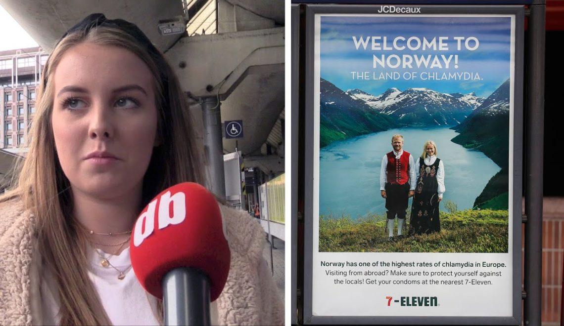 7-11出廣告指挪威係「性病國度」惹全國公憤