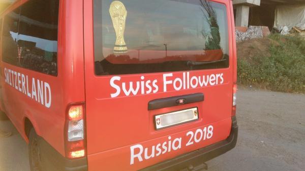熱血瑞士球迷要睇世界盃 竟然跟住GPS揸車深入東烏克蘭戰區?