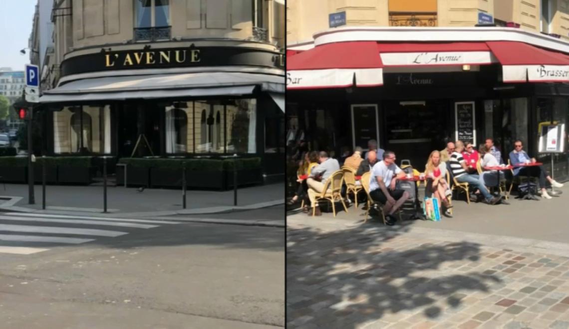 巴黎一間餐廳 因為同「種族歧視酒吧」同名 俾負皮牽連