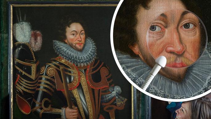 專家要靠鼻上有無增生 確定名畫人像真偽?