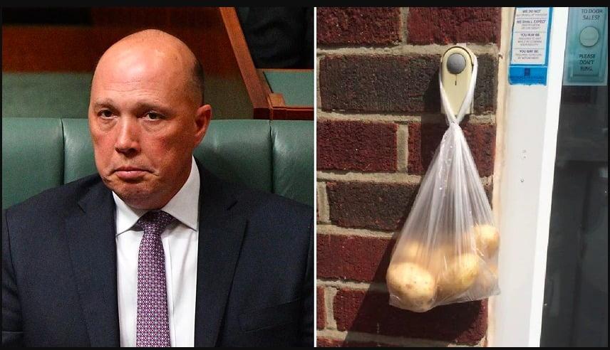 澳洲首相突然面對挑戰 市民又再門前掛植物紀念敗者?