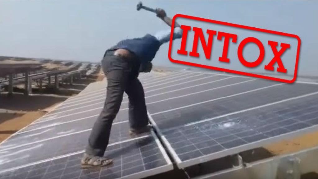印度最新網傳:太陽能板得罪神靈?