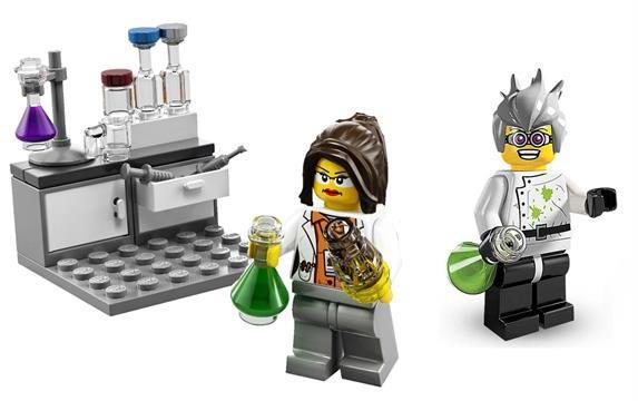 對付神經毒氣新武器:Lego實驗室?