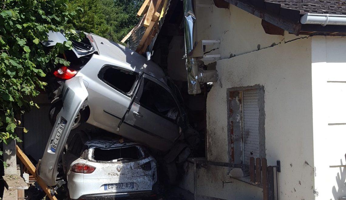 洛林離奇交通意外 司機車衝入屋 甚至唔係第一次衝入呢間屋?