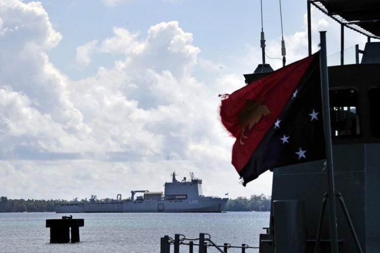 澳洲同美國面對瓷國崛起 重建係巴布亞新畿內亞嘅基地