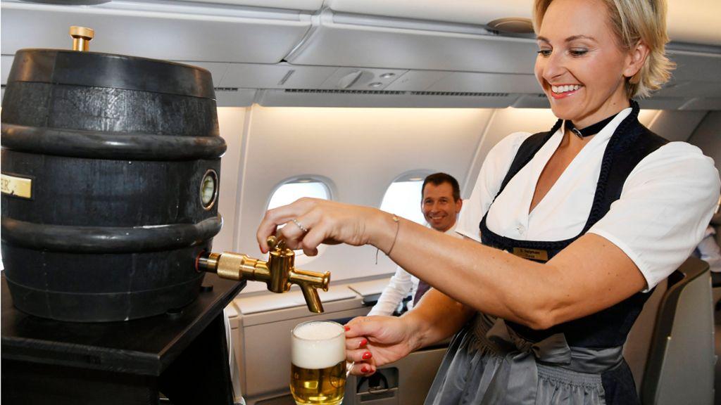 漢莎航空1960年代以黎 機上首次有 Draft beer 提供?