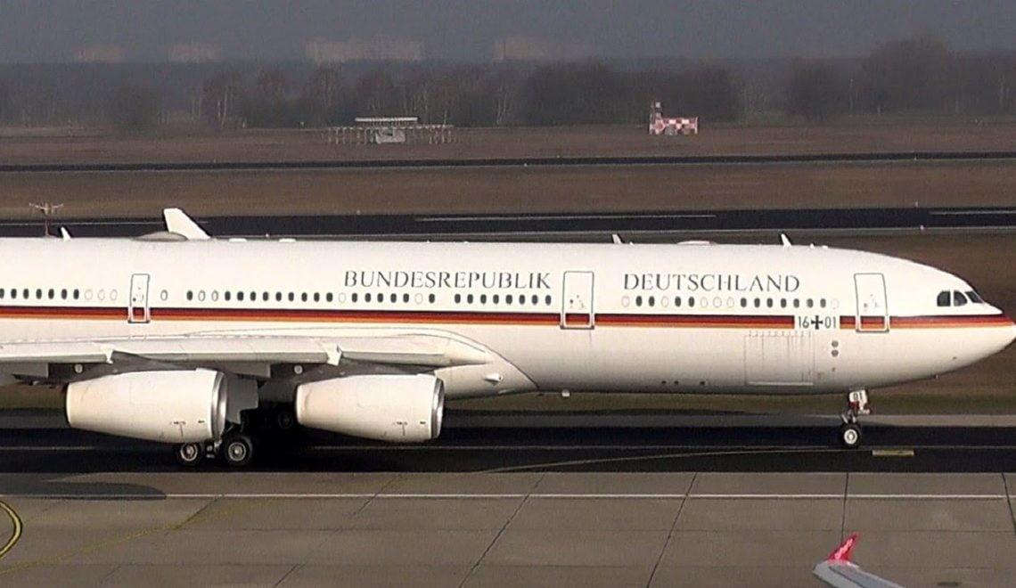 德財相提早返國 專機被迫滯留印尼 安排被指不周 惹怒記者?
