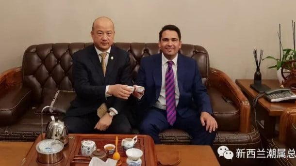反對黨領袖深陷瓷國捐款風波 紐西蘭副首相乾脆播歌抽水唔講嘢?