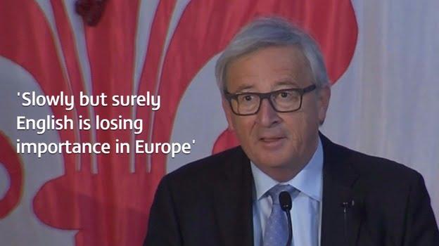 歐盟理事會主席表示英文係聯合國官方語言 「食蕉啦」