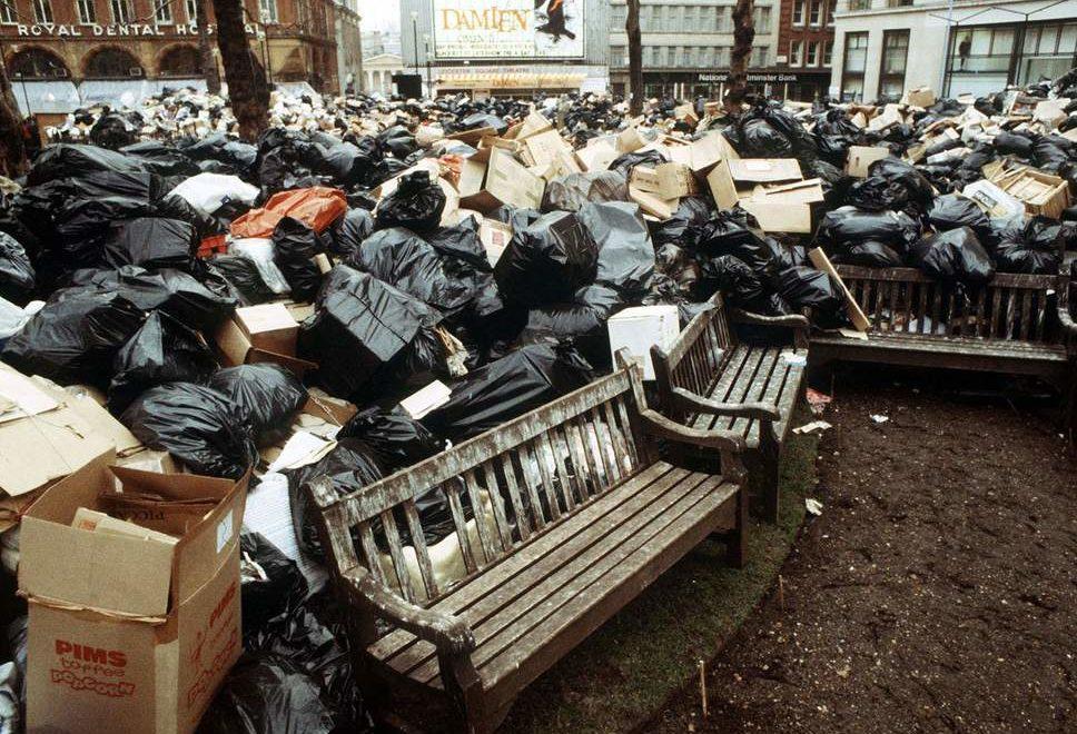 威爾斯地方緊縮開支搞到4個禮拜先收一次垃圾?