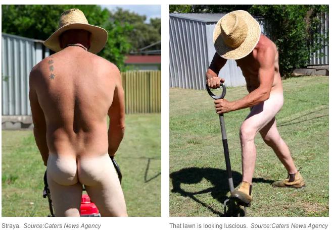 澳洲公司推裸女清潔被控種族歧視 推出裸男鏟草服務反擊