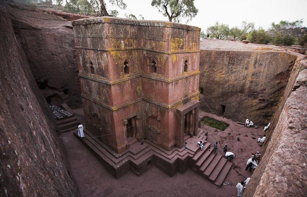 接受聯合國經費「加蓋」 埃塞俄比亞石造教堂反而受害會倒塌