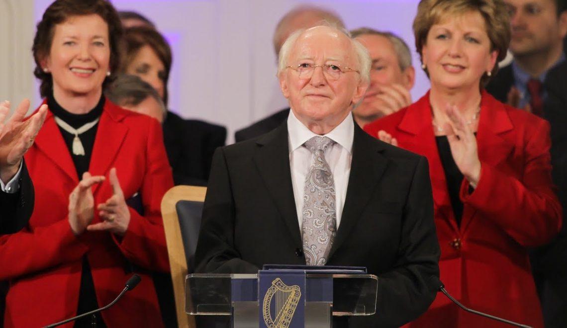 因典禮時間撞到應 愛爾蘭總統就職推到傍晚