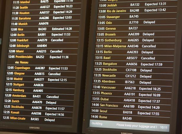 硬脫歐導致英國來往歐陸班機大規模取消 最差情況少於5%可正常起降