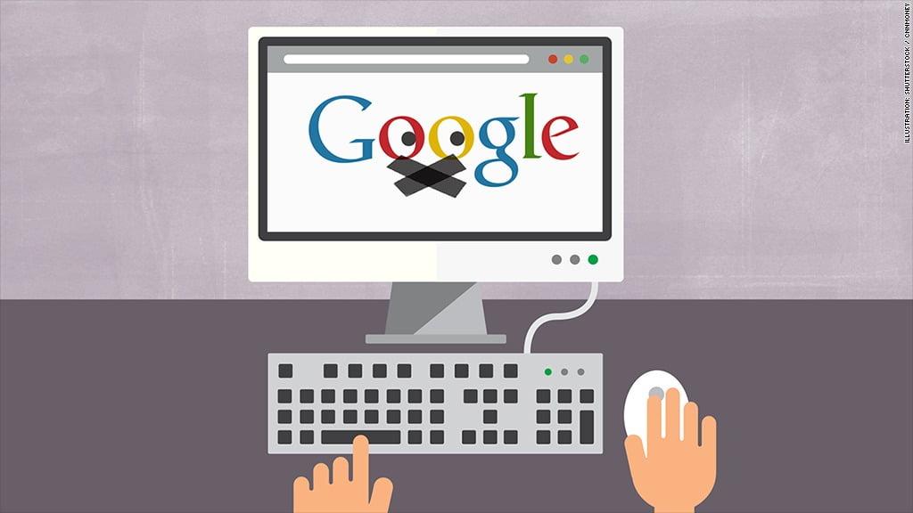 Google 揭發假文件要求佢地撤除 search link