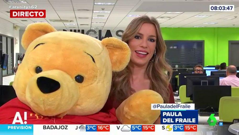 西班牙因習到訪 請走「小熊維尼」 電視惡搞節目紛紛恥笑 甚至新聞節目都搞埋一份