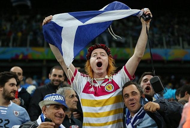 蘇格蘭對戰以色列 球迷只准帶兩國國旗 解決好多麻煩 但惹黎球迷不滿