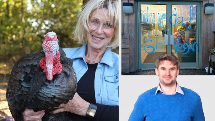 英國素食者 連火雞農場都要塗鴉攻擊
