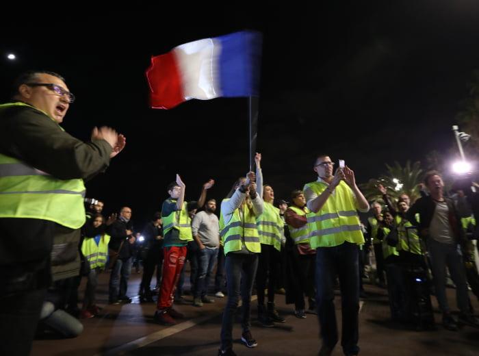 最驚黃衫軍 唔係法國 竟然係埃及警察