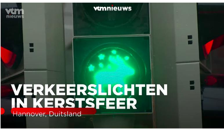 德國又玩紅綠燈 今次綠燈變馴鹿