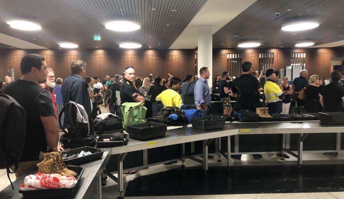 珀斯機場因為乘客入錯層大亂 所有乘客要重新安檢