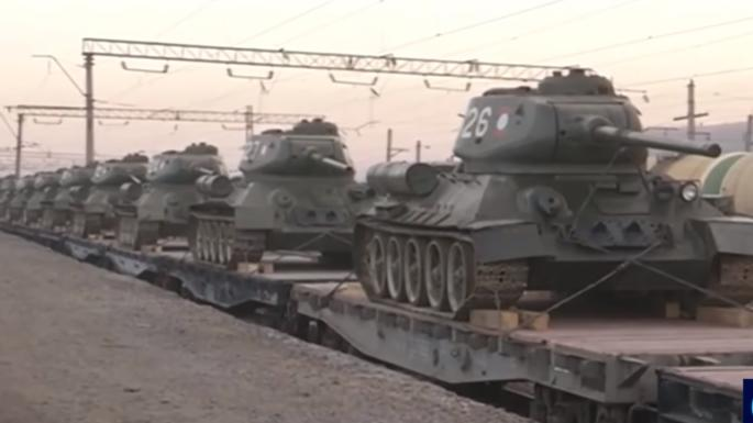 最後一批T34坦克終於退役