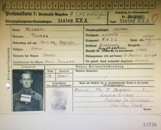 愛爾蘭男子唔知父親係戰爭英雄 70年後先領返英軍勳章