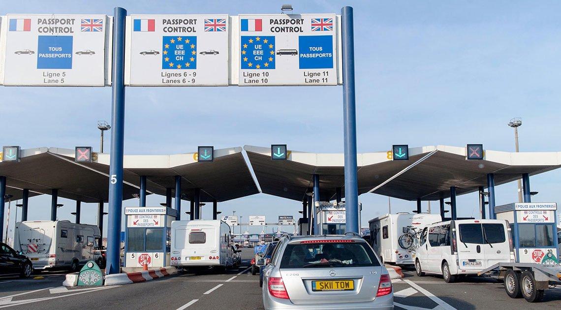 法國計劃加萊開專列 等愛爾蘭貨車特快通關