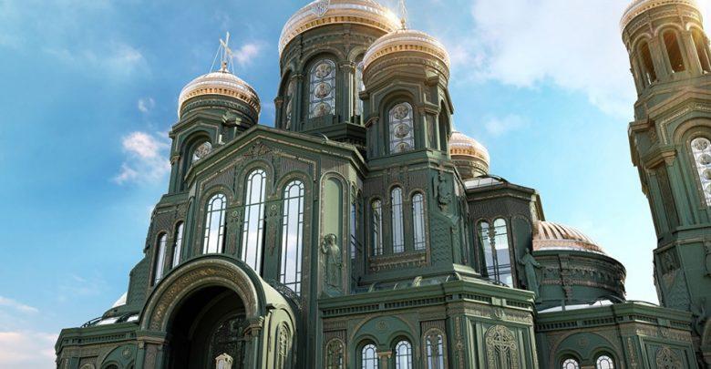 露西亞新教堂 樓梯用納粹德國熔鐵鑄成?