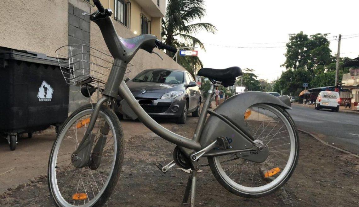法國非洲屬島 竟然發現巴黎公共租借單車?