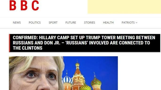 假新聞網站層出不窮 甚至有扮BBC散播親侵言論?