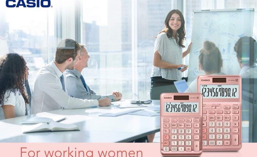 hi班牙 Casio 出粉紅色計算機公關災難