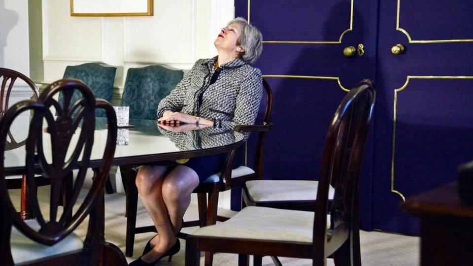 文翠珊脫歐一事無成 下週面臨100多名黨員「叛變」?
