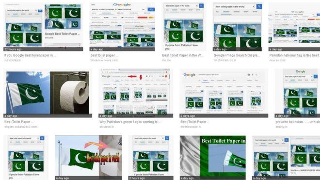 最新網路恐怖襲擊:Google 「世界最好嘅廁紙」會出巴基斯坦國旗?