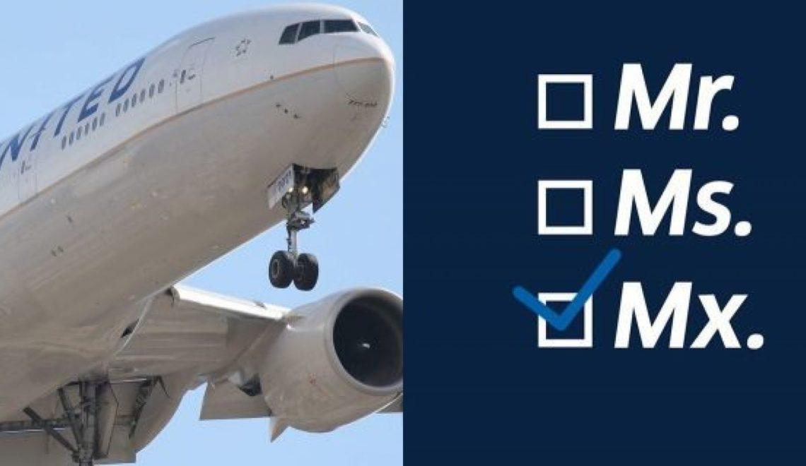 福景魚拉特航空提供第三性別「Mx」俾乘客選擇