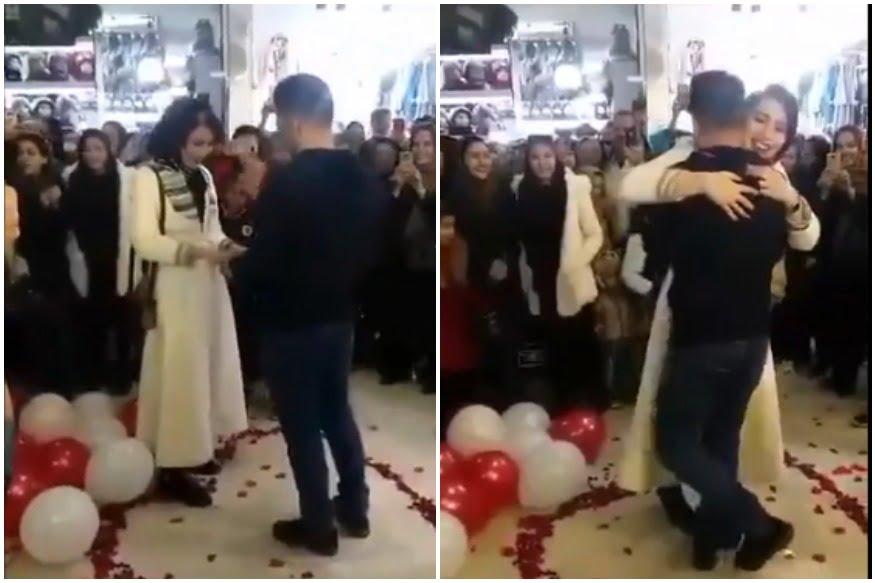 伊朗係商場求婚 係有傷風化 新人都要被捕