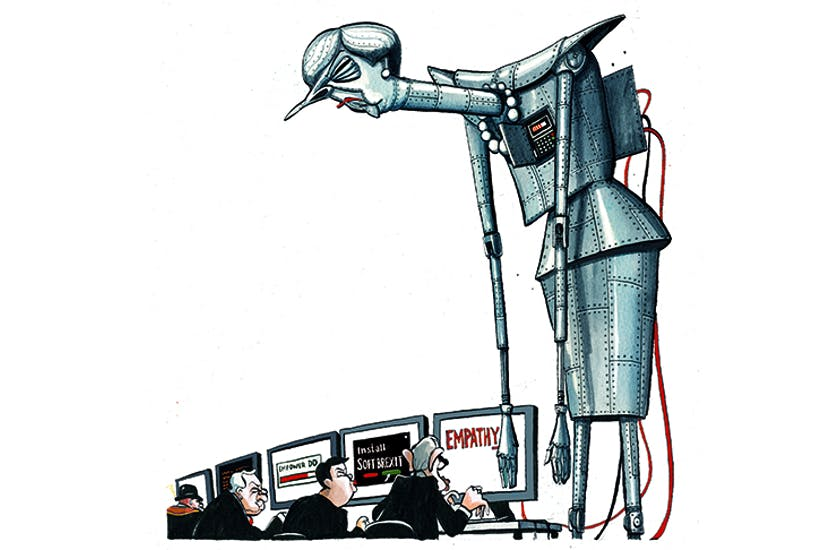 西班牙研究:1/4歐洲人認為機械人做政治決定仲好