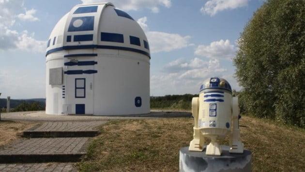 德國天文台化身R2D2 成網上大熱?
