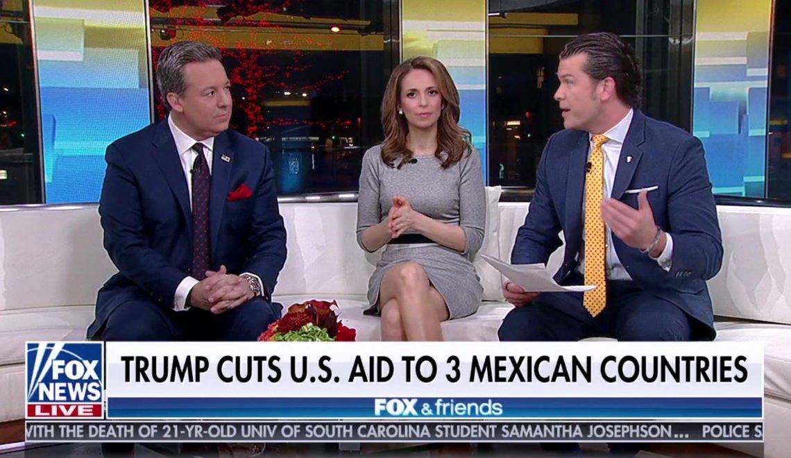 Fox news 當中美洲國家係「三個墨西哥國家」慘遭恥笑