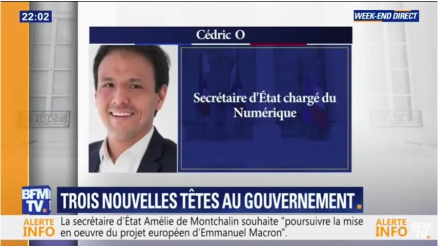 法國新部長姓氏得一個字母 搞到政府系統一鑊粥?