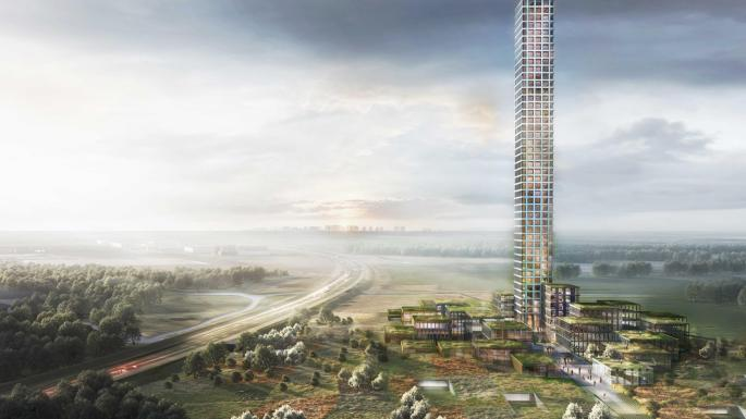 西歐最高大樓將會係丹麥一個7000人鄉郊小鎮落成?