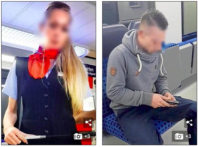 德鐵女職員拍porn 拍到上休班列車 終被炒魷