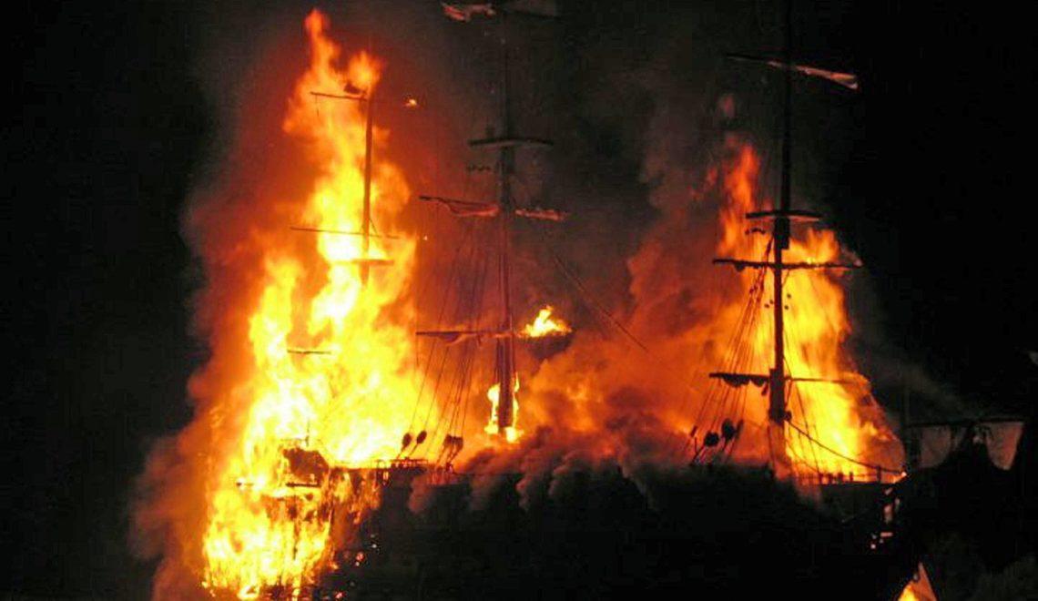 英國節日燒「五月花號」複製品 惹黎美國市民抗議?